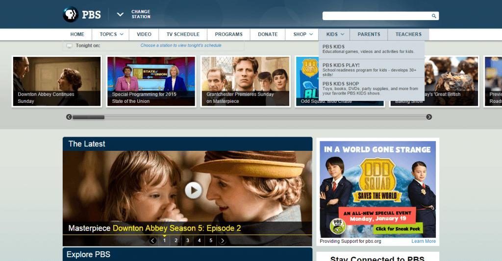 PBS_ Nav