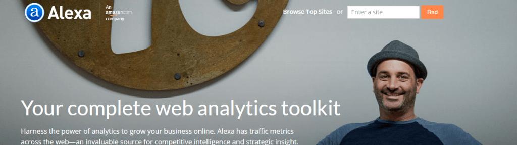 Herramientas de análisis SEO: Alexa