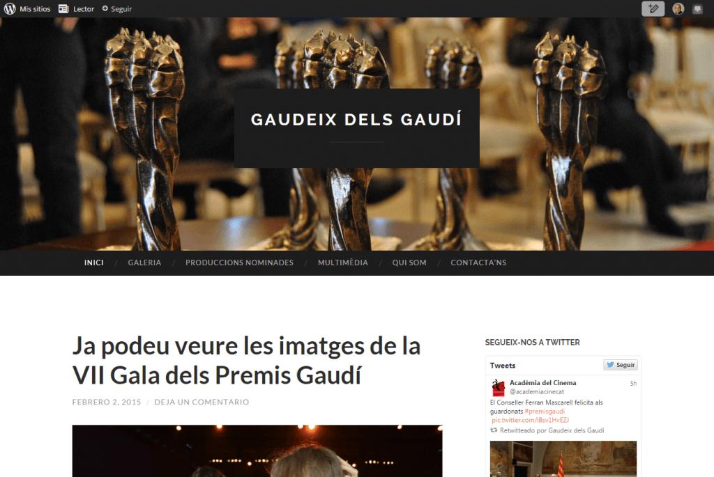 Pàgina principal Gaudeix dels Gaudí