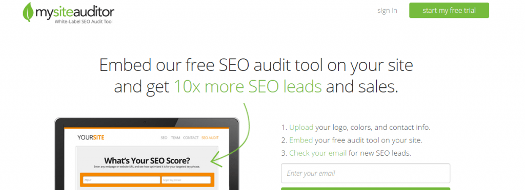 Herramientas de análisis SEO: My Site Auditor