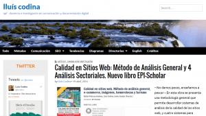 sitio Lluís Codina
