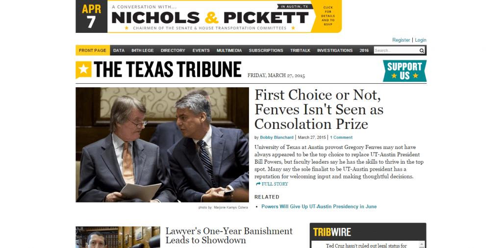 The Texas Trib