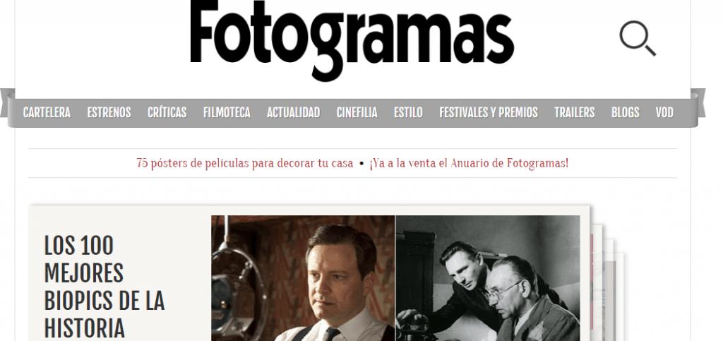 Fotogramas Cine - Estreno