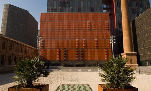 Sede para las tesis del Programa de Doctorado de la UPF. Plaza Gutenberg. Campus de la Comunicacion UPF