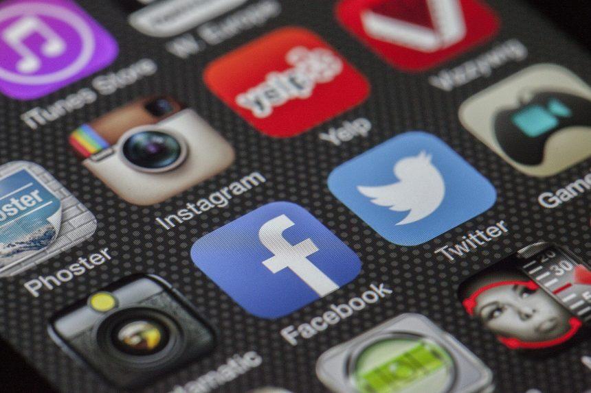 iconos de las principales redes sociales