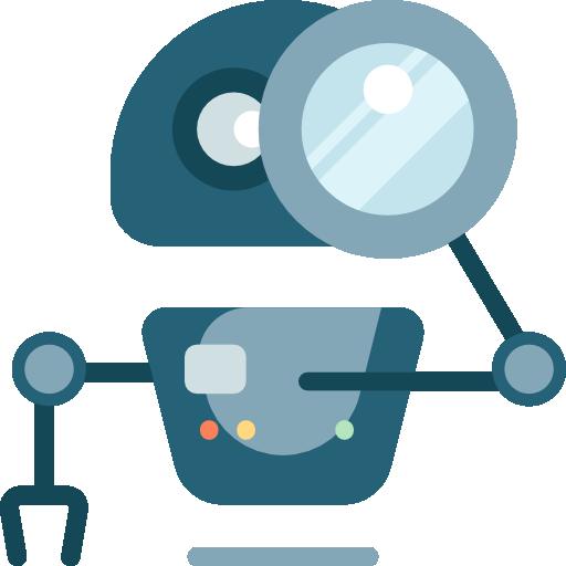 Google para periodistas: Icono que representa el análisis de Google de la calidad de un sitio web