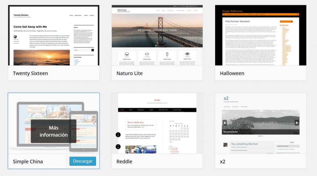 temas-WordPress