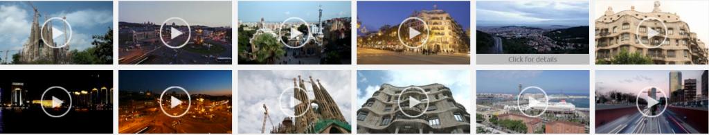 Bancos de imágenes: el resultado de una búsqueda de vídeos en el banco de imágenes AGE Fotostock.