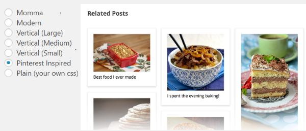 Plugin de WordPress, Related Posts
