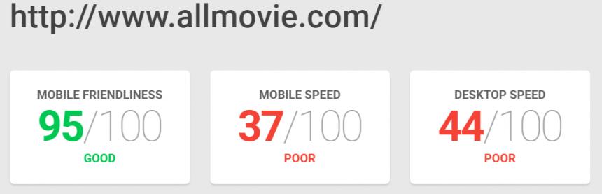 Adaptación a la web móvil y velocidad de carga de AM