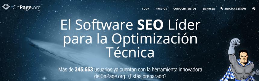 Herramientas de análisis SEO: OnPage