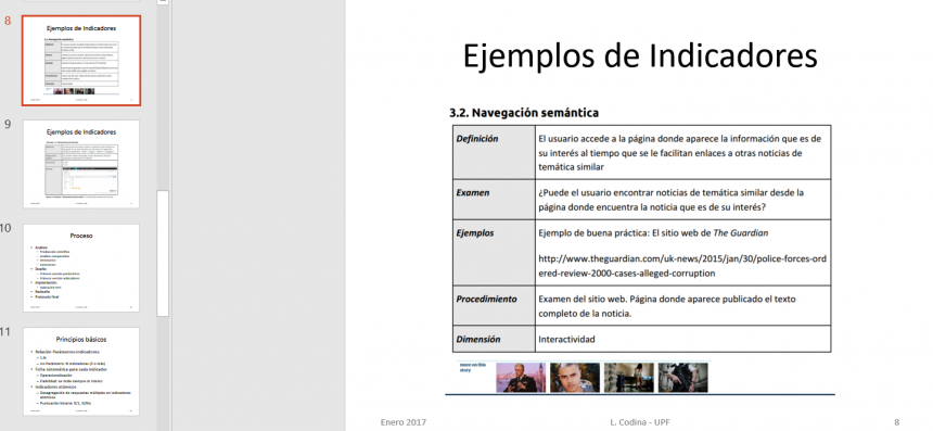 presentación análisis de cibermedios