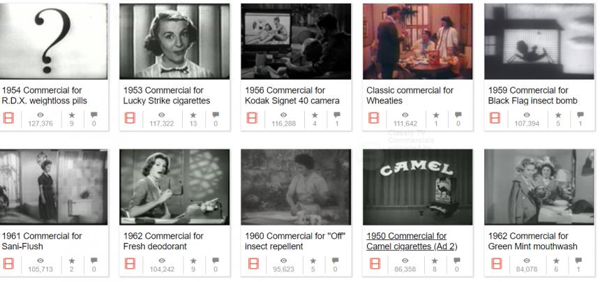 Antiguos anuncios de TV