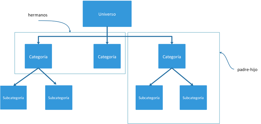Estructura de una taxonomía