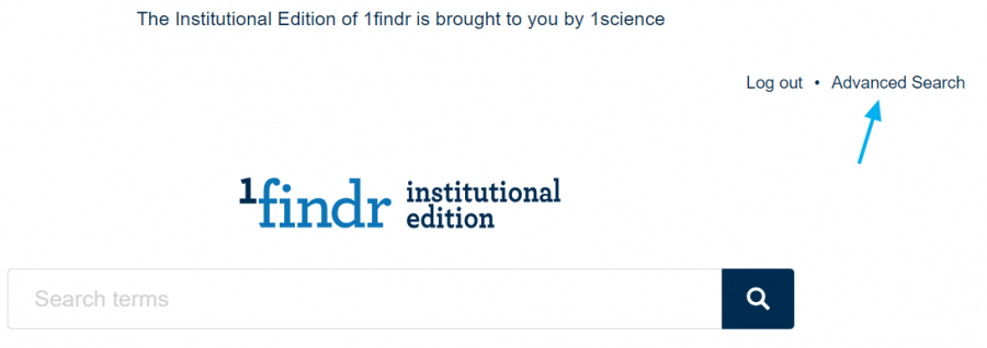 1findr Institutional edition
