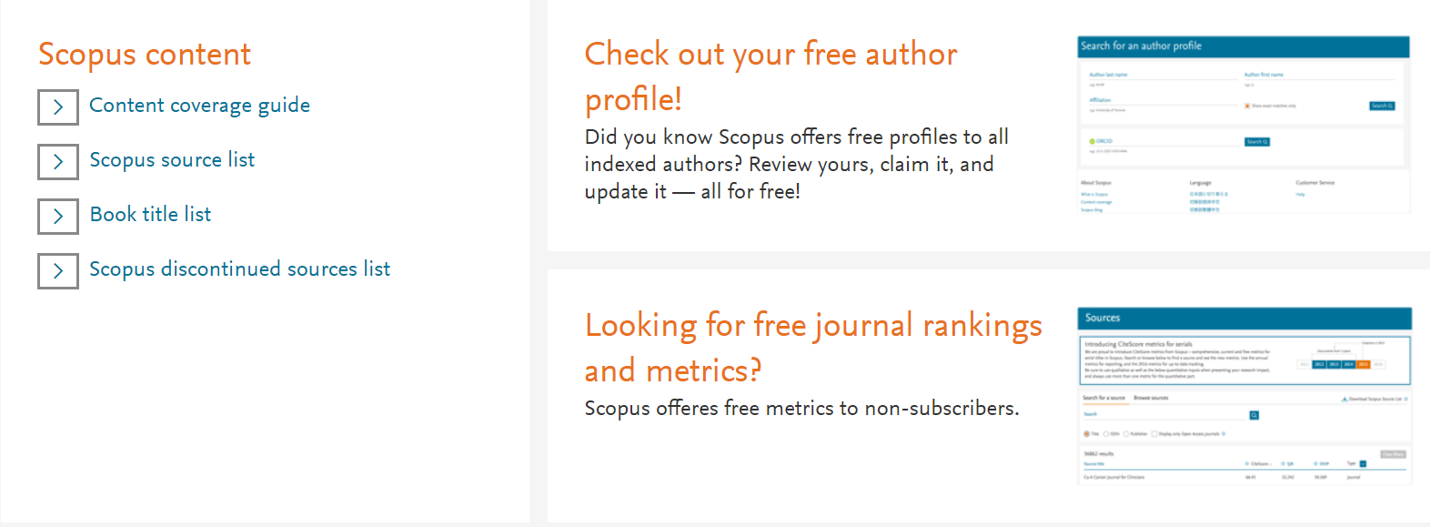 Scopus preview