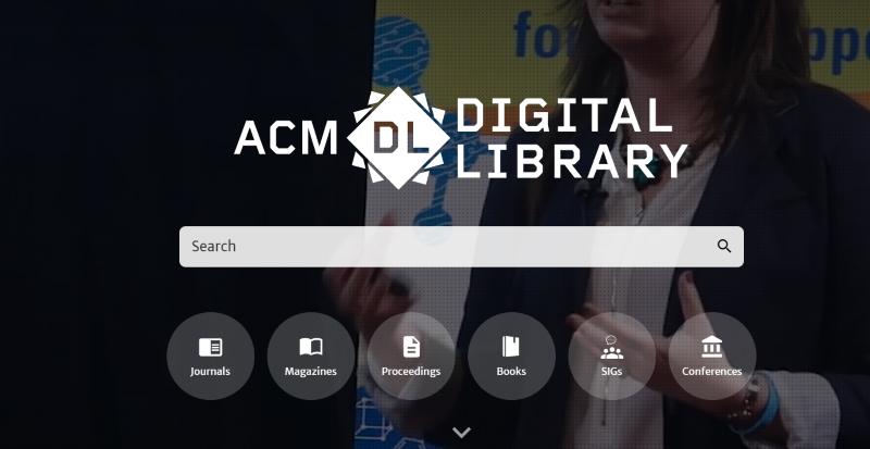 El nuevo portal-base de datos de la ACM Digital Library