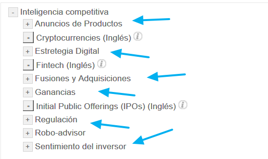 Factiva expert search: Inteligencia competitiva