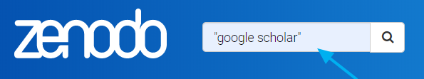 Zenodo únicamente permite la búsqueda simple.