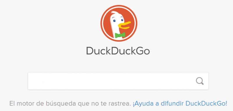 DuckDuckGo es uno de los principales buscadores alternativos a Google