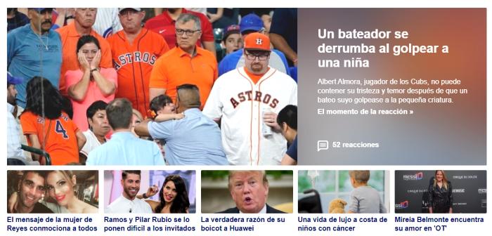 Noticias en Yahoo