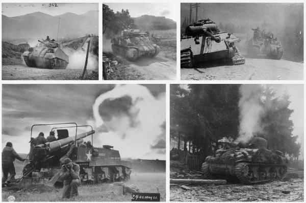 Bancos de imágenes: tanques en la segunda guerra mundial