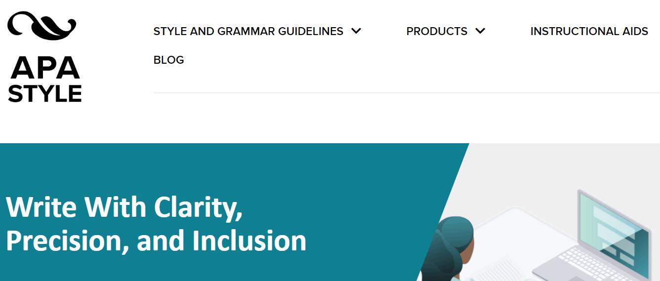 Normas APA: sitio web