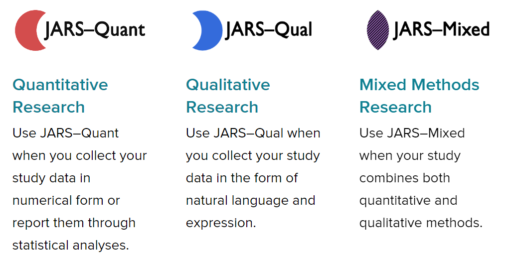 JARS Guidelines