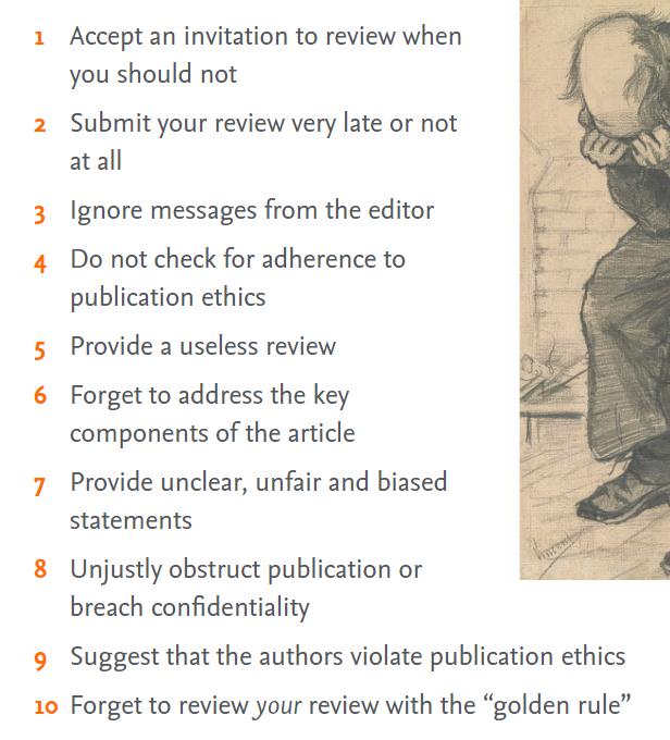 Errores al evaluar artículos científicos según Elsevier Connect