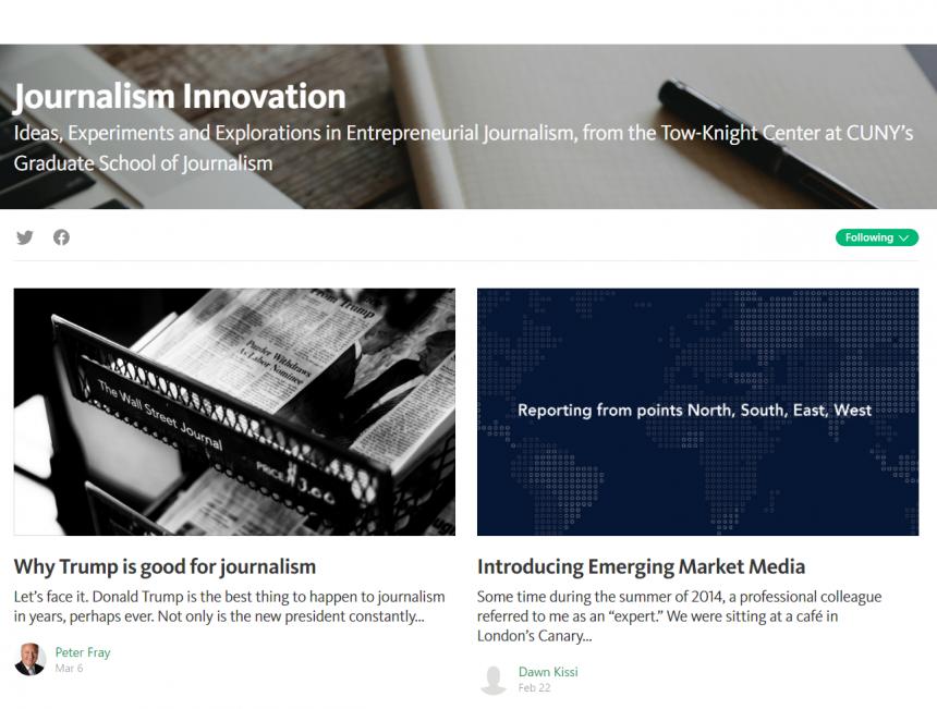 Journalism Innovation