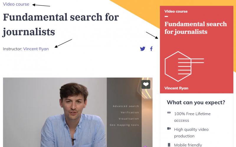 Curso en vídeo sobre búsqueda en internet