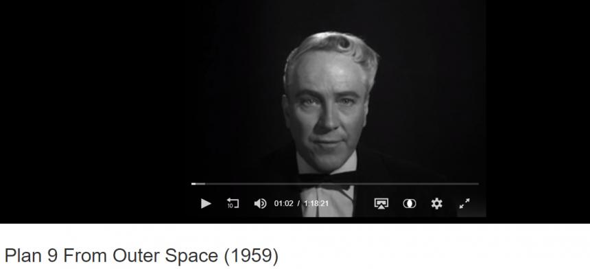 Reproducción de un filme procedente de archivo