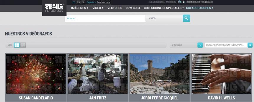 Bancos de vídeo: AGE Fotostock Vídeo