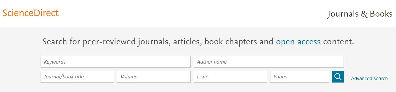 Science Direct es una base de datos y una plataforma editorial de Elsevier