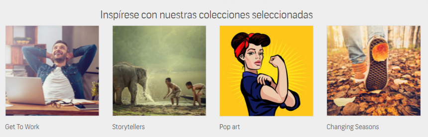 Colecciones de Shutterstock