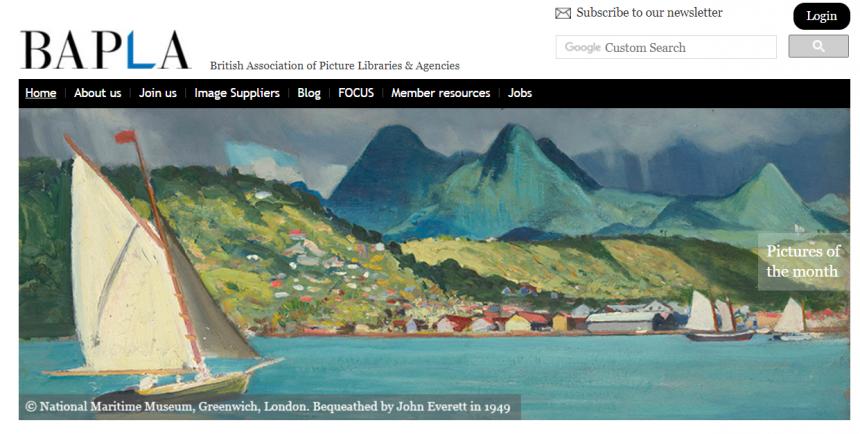 Sitio web de la BAPLA