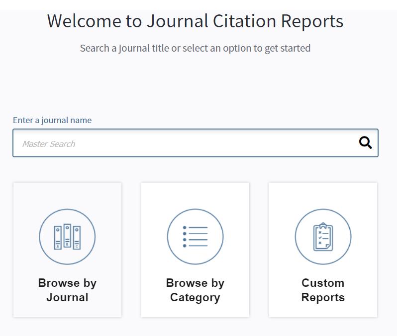 Los JCR donde se publica el Journal Impact Factor