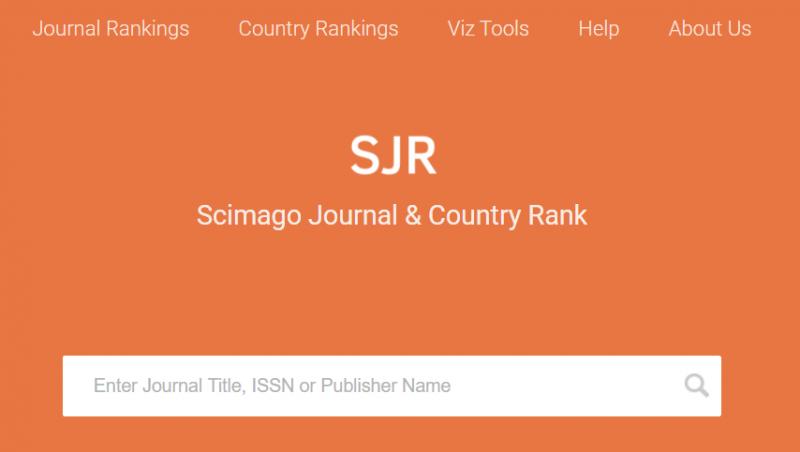 Scimago Journal Rank. Uno de los principales índices de impacto