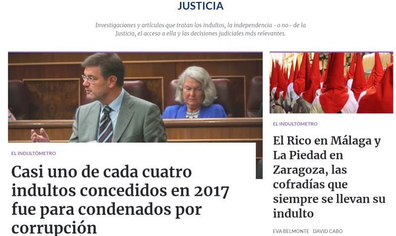 Civio. Sección Justicia