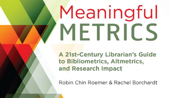 Portada de la obra Meaningful Metrics sobre métricas aplicadas a la producción científica