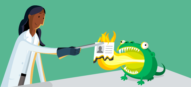 Buscadores alternativos a Google: DuckDuckGo. Ilustración sobre la privacidad