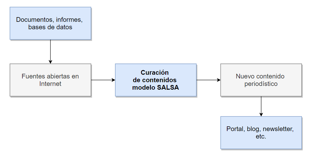 Componentes del proceso del modelo SALSA